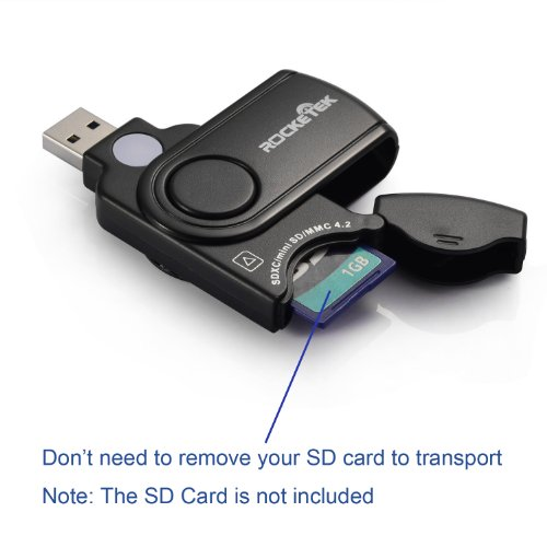 SanFlash PRO USB 3.0 Card Reader Works for Alcatel A30 Adapter to Directly Read at 5Gbps Your MicroSDHC MicroSDXC Cards